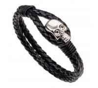 Apyrankė Skull silver hook; 21cm