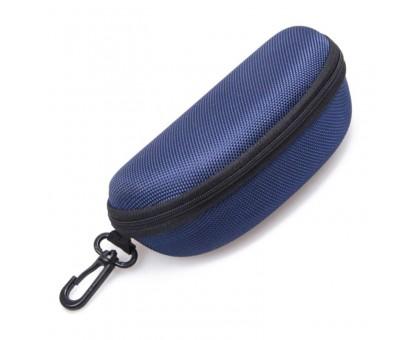 Dėklas akiniams Hard Zip, mėlynas