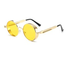 Akiniai nuo saulės Punk Gold Yellow