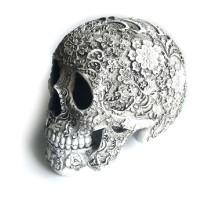 Dekoracija 3D kaukolė Calavera; 20x15x14cm