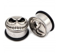 Auskarai tuneliai Cheshire Smile, 2vnt; 8mm, 10mm, 12mm