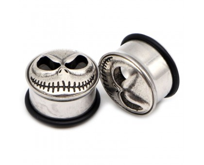 Auskarai tuneliai Cheshire Smile, 2vnt; 8mm, 10mm, 12mm, 14