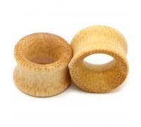 Auskarai tuneliai mediniai Wood Classic, 2 vnt; 8mm, 10mm, 12mm, 14mm, 16mm, 18mm, 20mm