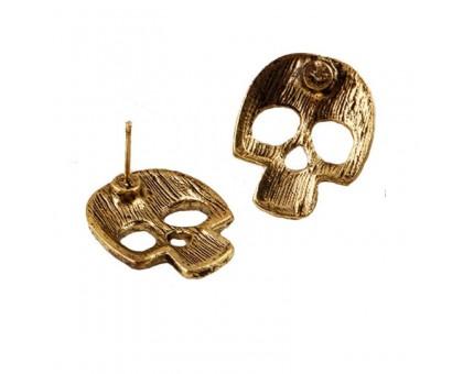 Auskarai Bronze Skull, 2 vnt