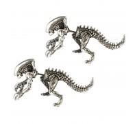 Auskarai Alien Predator, 2 vnt