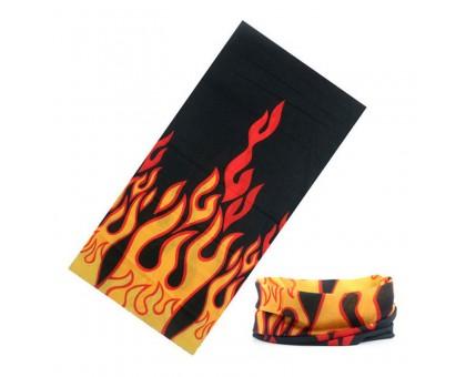 Bandana kaklaskarė Black Fire, universalaus dydžio