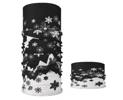 Bandana kaklaskarė Night Snow, universalaus dydžio