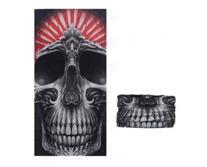 Bandana kaklaskarė Bloody Skull, universalaus dydžio