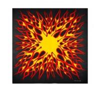 Skarelė Saulės sprogimai; 55x55cm