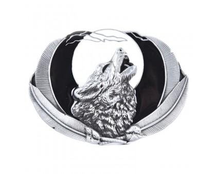 Sagtis diržui Wolf White; 9.4x6.8cm