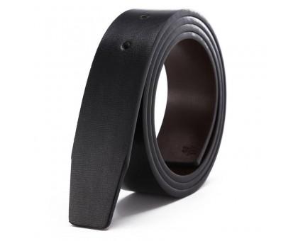 Diržas odinis diržas be sagties Classic Black, 120cm