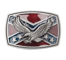 Sagtis diržui Confederate Eagle; 9.2x6.5cm