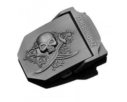 Sagtis taktiniam diržui Zhanbeiku Skull; 7x5.3cm