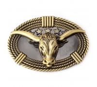 Sagtis diržui Golden Bull; 9.2x6.2cm
