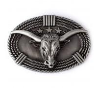 Sagtis diržui Silver Bull; 9.2x6.2cm