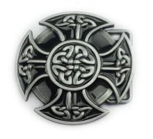 Sagtis diržui Celtic Cross; 7x7cm