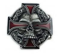 Sagtis diržui Doom Cross, 8x8cm