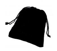Maišelis aksominis juodas, 10x12cm