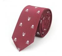 Kaklaraištis Skull Cherry White