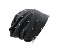 Kepurė Spikes Grey; universalaus dydžio