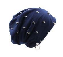 Kepurė Blue Skulls, universalaus dydžio
