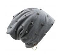 Kepurė Skulls Grey; universalaus dydžio