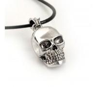 Kaklo papuošalas Lonely skull, 20x15mm
