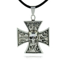 Kaklo papuošalas Likimo Kryžius; 25x25mm