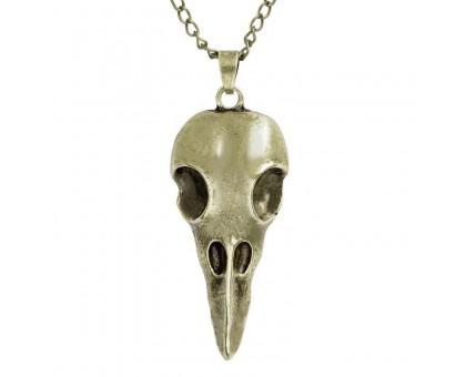 Kaklo papuošalas Animal Skull Bronzos spalvos, 50x25mm