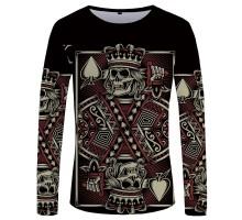 Marškinėliai ilgomis rankovėmis Karalius; L, XL