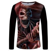 Marškinėliai ilgomis rankovėmis Ginger rock; L, XL