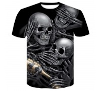 Marškinėliai trumpomis rankovėmis Drunk Sandzaru; L