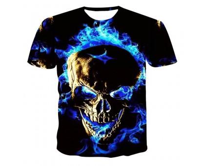 Marškinėliai trumpomis rankovėmis Blue Gas Flame; XL