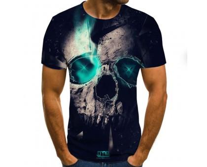 Marškinėliai trumpomis rankovėmis Žalias Lazeris; L