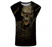 Marškinėliai be rankovių Mood Skull, L