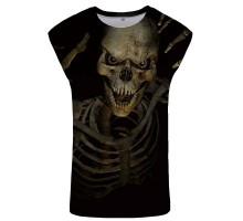 Marškinėliai be rankovių Mood Skull; L