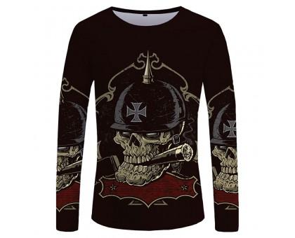 Marškinėliai ilgomis rankovėmis Smoking Soldier; XL