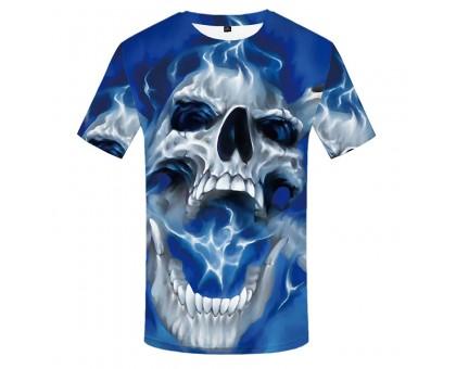 Marškinėliai trumpomis rankovėmis Sky Skull; M