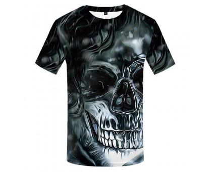 Marškinėliai trumpomis rankovėmis Water Skull; M