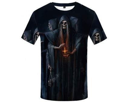 Marškinėliai trumpomis rankovėmis Giltinė; L