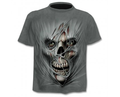 Marškinėliai trumpomis rankovėmis Mist Skull, L