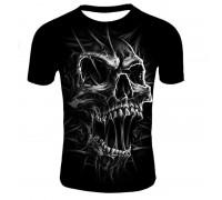 Marškinėliai trumpomis rankovėmis Smoke skull; XL