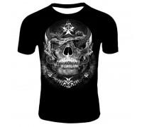 Marškinėliai trumpomis rankovėmis Star skull; XL
