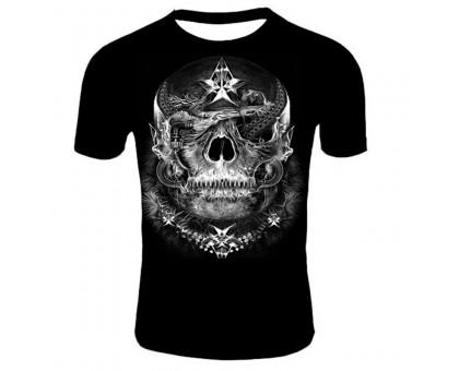 Marškinėliai trumpomis rankovėmis Star skull, XL