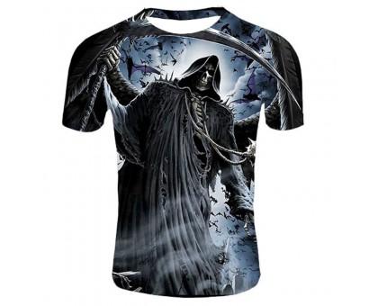 Marškinėliai trumpomis rankovėmis Mirties deivė; XL