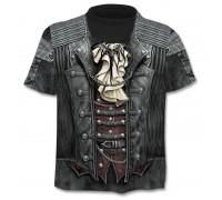 Marškinėliai trumpomis rankovėmis Pirato liemenė, L, XL