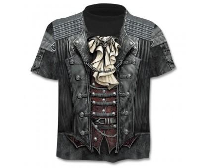 Marškinėliai trumpomis rankovėmis Pirato liemenė; L, XL
