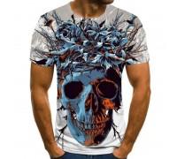 Marškinėliai trumpomis rankovėmis Skull Fiesta; L, XL