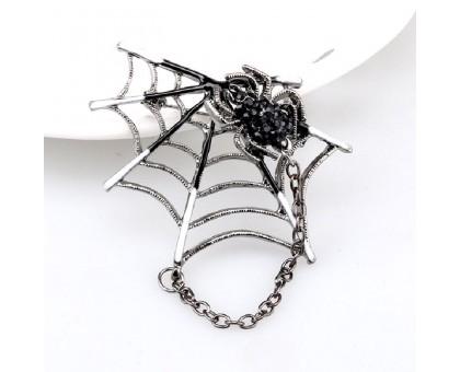 Segė Spider Black; 4.5x5.5cm