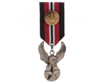 Medalis Silver Star Eagle, 8x3cm